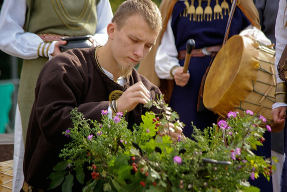 Romuvan Pagan Ceremony in Lithuania, ii Wikipedia