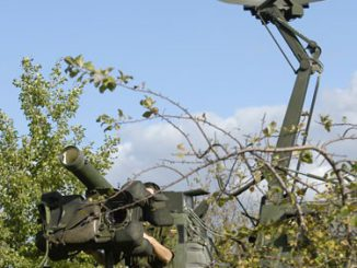 RBS-70 and Giraffe MK-IV surveillance radar