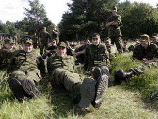 Estonian soldiers
