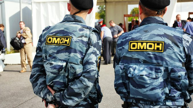 OMON in the present days in Russia