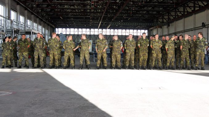 Czech soldiers in Lithuania