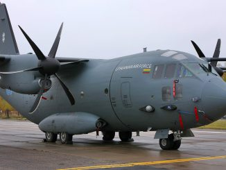 Lithuanian Airforce transport Alenia C-27J Spartan