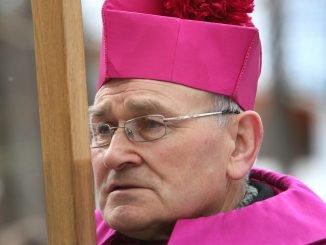 Panevėžys Bishop Emeritus Jonas Kauneckas