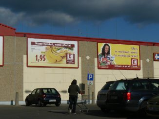 Supermarket in Suvalki