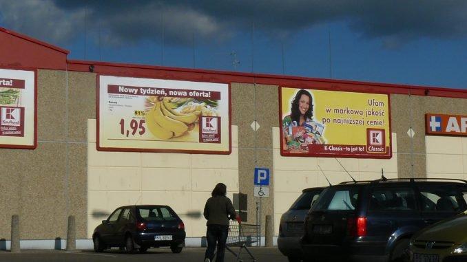 Supermarket in Suvalki