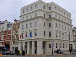 Lithuanian Embassy in London. Photo courtesy of Foreign Ministry