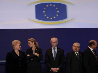 Dalia Grybauskaitė in Brussels