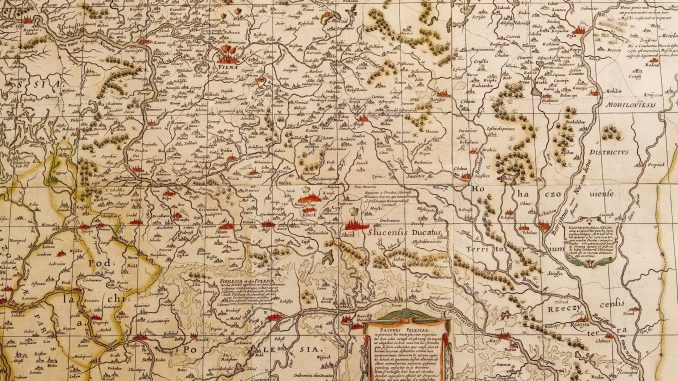 Cartography of a private domain: the 1645 map of the Duchy ...