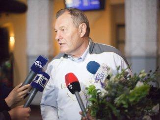 Modestas Paulauskas (Elijaus Kniežausko nuotr.)