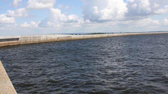Kruonis hydroelectric power plant reservoir