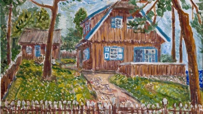 Thomas Mann house in Nida, by Daumantas