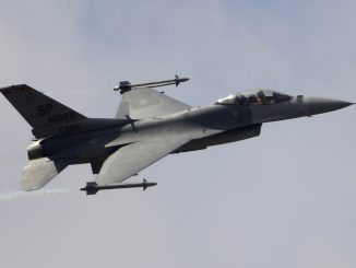 F-16 Fighting Falcon fighter jet
