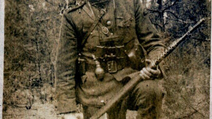 Adolfas Ramanauskas-Vanagas. 1947 m. vasara (LGGRTC Genocido aukų muziejaus fondų nuotr.)