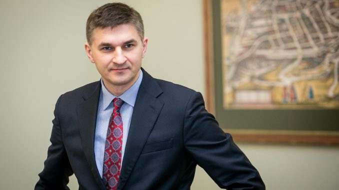 Lithuanian Energy Minister Jaroslav Neverovič