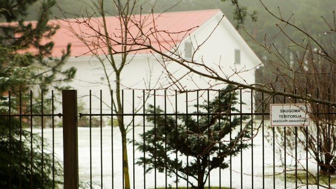 Alleged CIA jail in Antaviliai