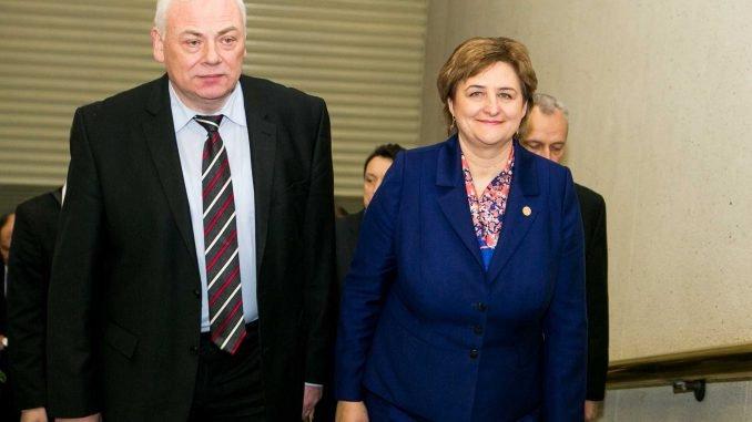 Dailis Alfonsas Barakauskas and Loreta Graužinienė