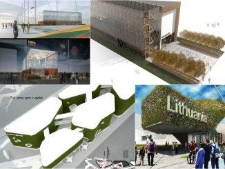 """""""Expo 2015""""  konkurso dalyvių vizualizacijos, kaip turėtų atrodyti Lietuvos paviljonas"""
