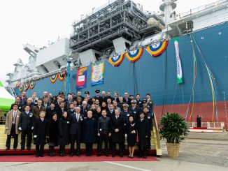 Lithuania's floating LNG storage vessel was built in South Korea