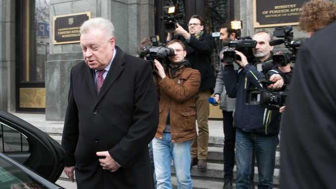 Aleksandr Udalcov, Russian Federation ambassador to Lithuania