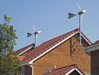 Rooftop wind turbines