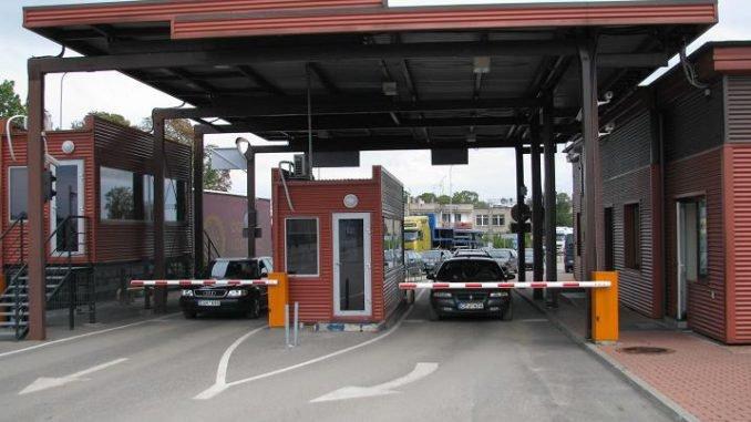 Panemunė checkpoint