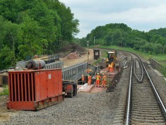 """""""Rail Baltica"""" construction work in Lithuania"""
