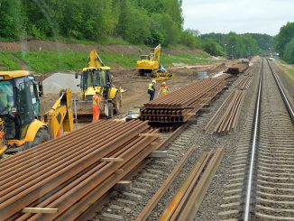 Rail Baltica construction