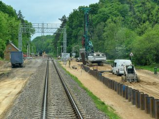 """Rail Baltica"""" construction work in Lithuania"""