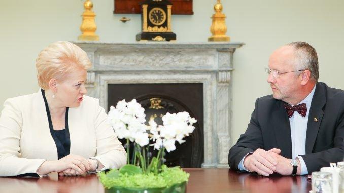 Dalia Grybauskaitė, Juozas Olekas