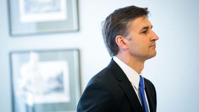 Minister of Energy Jaroslav Neverovič