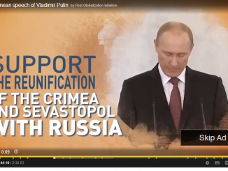 Kremlin's propaganda on Youtube