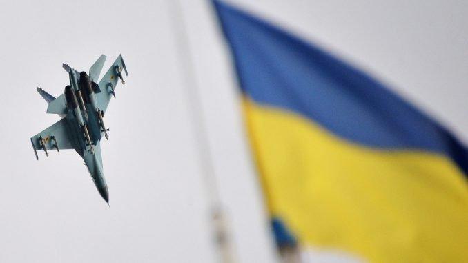 Ukrainian fighter jet