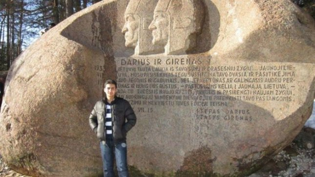 Toghrul Sabzaliyev from Azerbaijan. Photo from personal archive