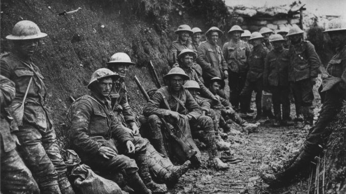 Royal Irish Rifles ration party Somme July 1916