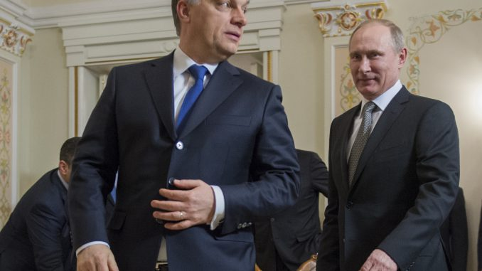 Viktor Orban and Vladimir Putin