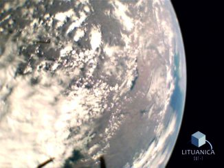Image taken by LituanicaSAT-1