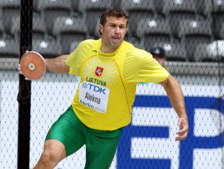 Decorated Lithuanian champion Virgilijus Alekna