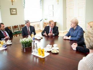 President Grybauskaitė met with members of the US Congress