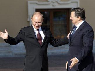 Vladimir Putin, Jose Manuel Barroso