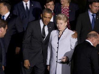 Barack Obama, Dalia Grybauskaitė