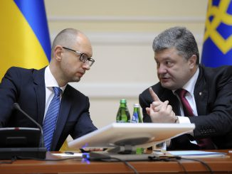 Ukraine's future ruling coalition should be formed by Ukrainian President Petro Poroshenko's block and Prime Minister Arseniy Yatsenyuk's People's Front party