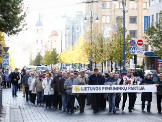 Pensioners meeting in Vilnius