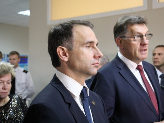 Energy Minister Masiulis and PM Butkevičius