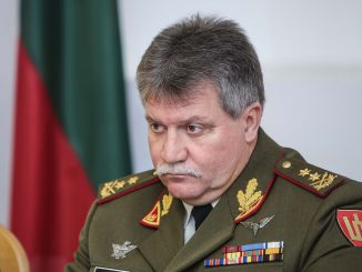 Chief of Defence of Lithuania, Major General Vytautas Jonas Žukas