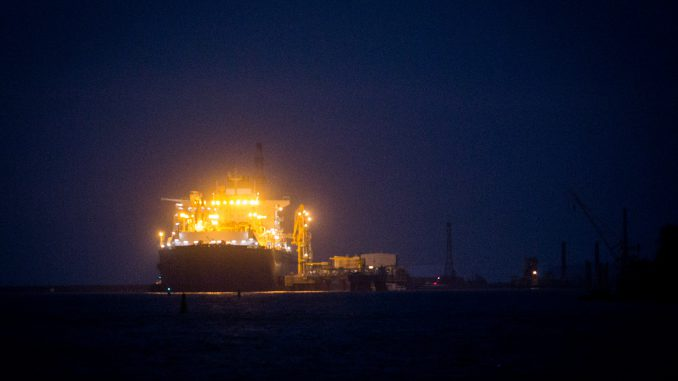 "LNG Terminal vessel ""Independence"""