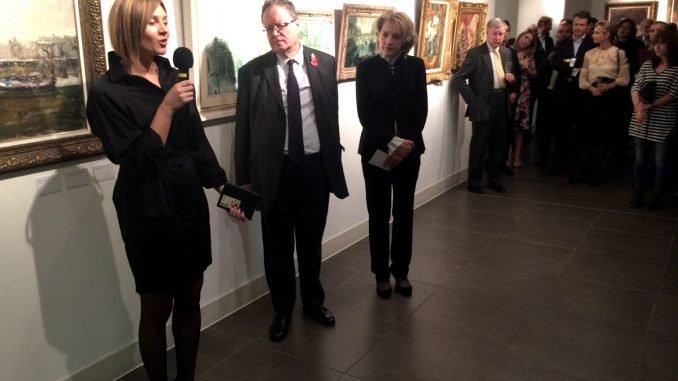Exhibition opening. Photo courtesy of MFA