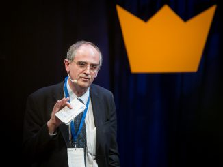 Edward Lucas at the Swedish Business Awards 2014