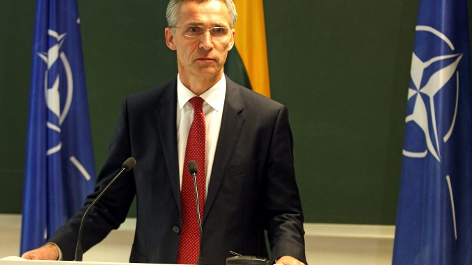 Jens Stoltenberg in Lithuania