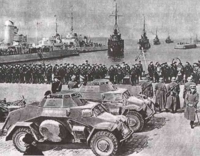 Nazi armada in Klaipėda