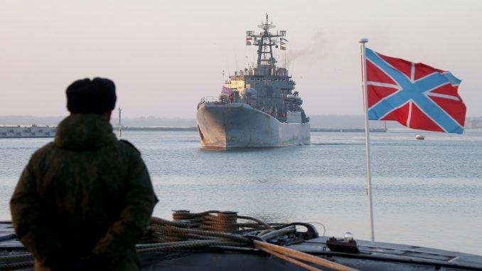 Russian ship Kaliningrad